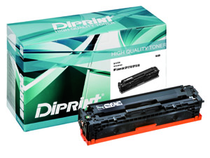 DIPRINT Toner, remanufactured, BLACK für HP Color LJ CP 1210, Color LJ 1213, Color LJ 1214, Color LJ