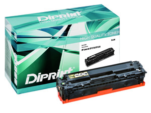 DIPRINT Toner, remanufactured, yellow für HP Color LJ CP 1210, Color LJ 1213, Color LJ 1214, Color L