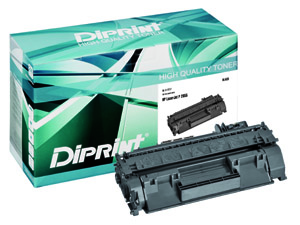 DIPRINT Toner, remanufactured, BLACK für HP LJ P2035, LJ P2055 , kompatibel zu CE505A