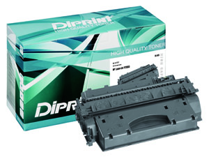 DIPRINT Toner, remanufactured, BLACK für HP LJ P2055 HC , kompatibel zu CE505X
