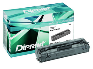DIPRINT Toner, remanufactured, BLACK, 160 g für HP LJ 1100 Series, LJ 3200 Series , kompatibel zu C4