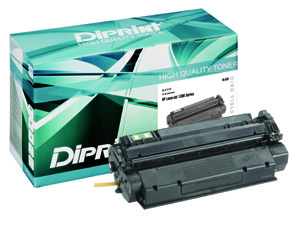 DIRPINT Toner, remanufactured, with Chip,&yum für HP LJ 1300 Series , kompatibel zu Q2613X