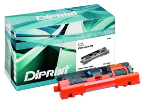 DIPRINT Toner, remanufactured, polymer,  für HP Color LJ 2550 Series , kompatibel zu Q3960A