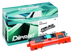DIPRINT Toner, remanufactured, with Chip, pol für HP Color LJ 2550 Series , kompatibel zu Q3961A