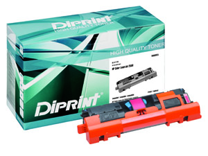 DIPRINT Toner, remanufactured, with Chip, pol für HP Color LJ 2550 Series , kompatibel zu Q3963A